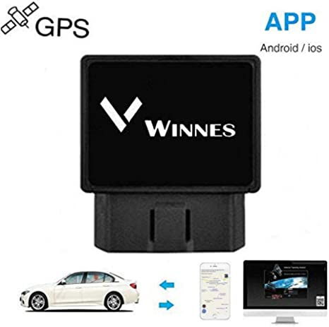 Winnes Localizador Tracker GPS gsm GPRS para Vehículos Coche Moto Control Remoto Localizador GPS para Coche OBD2 GPS Coches Localizador Rastreador GPS Coche: Amazon.es: Electrónica