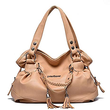 3ced25fe701 Image Unavailable. Image not available for. Color  Women Bags Designer Handbag  Female PU Leather Handbags Ladies Portable Shoulder Bag Office Hobos Totes