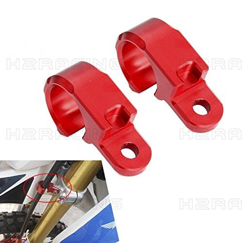 H2RACING Red CNC Front Brake Line Hose C - Brake Line Holder Shopping Results