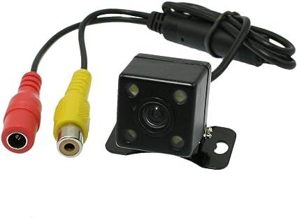 Universal CCD HD 4 LED Night Vision Car Rear View BackUp Reverse Parking Camera