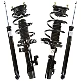 Prime Choice Auto Parts KS15609-CST100170 2 Front Struts and 2 Rear Shocks