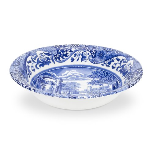 - Spode Blue Italian Cereal Bowl, Set of 4