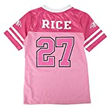 OuterStuff Ray Rice NFL Baltimore Ravens Mid Tier Fashion Pink Jersey Girls Youth (7-16)
