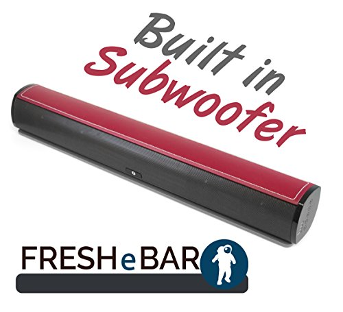 FRESHeTECH Television Sound Bar - Bluetooth 24 inch, 90 Watt