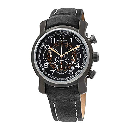 Ben & Sons Men's BS-10013-GM-01-RGWA Mercury Analog Display Quartz Black Watch (Ben And Sons Mens Watch)