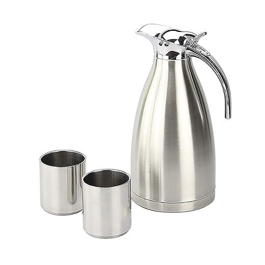 Aislamiento al vacío de acero inoxidable Cafetera Juego de ...