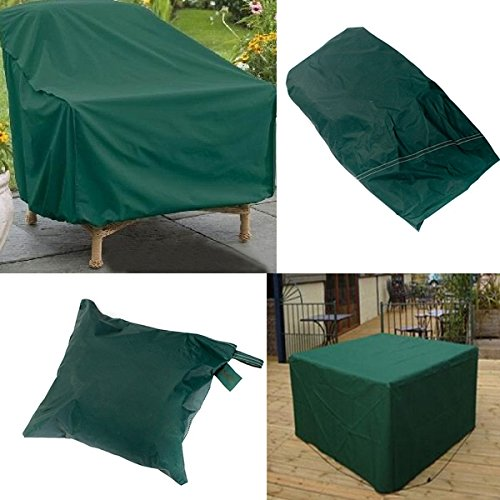 Mark8shop 280x206x108cm Waterproof Outdoor Furniture Set Cover Table Shelter