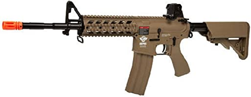 G G CM16 Raider Long Barrel Airsoft Tan