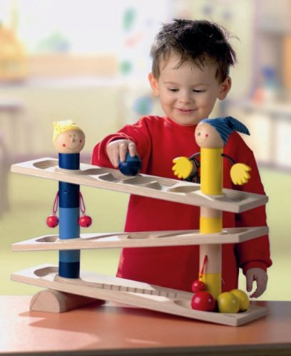 - HABA First Wooden Ball Track Roll 'n Roll 'n Roll (Made in Germany)