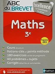 ABC du BREVET Excellence Maths 3e