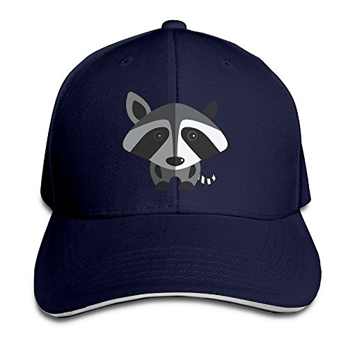 Child Rocket Raccoon Gloves (Little Gray Raccoon Casual Unisex Unstructured Cotton Cap Adjustable Baseball Hat Cap Navy)