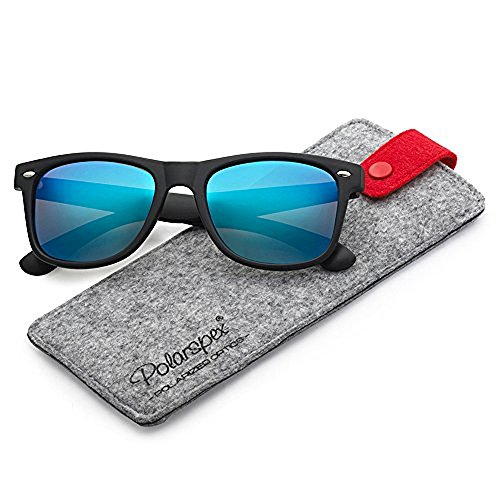 (Polarspex Polarized 80's Retro Classic Trendy Stylish Sunglasses for Men Women )