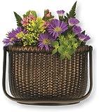 Nantucket Basket Door Knocker - Oiled Bronze (Premium Size)