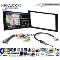Volunteer Audio Kenwood Excelon DNX994S Double Din Radio Install Kit with GPS Navigation Apple CarPlay Android Auto Fits 2010-2013 Honda Insight
