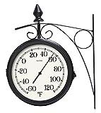 "Lacrosse 104-730 8"" Dual Outdoor Clock"