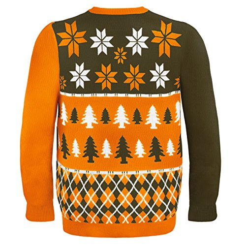 NFL Football 2014 Ugly Christmas Sweater Busy Block Design - Pick ...