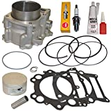 YAMAHA RAPTOR 660 686CC 102MM BIG BORE CYLINDER PISTON GASKET TOP END KIT SET 2001 2002 2003 2004 2005
