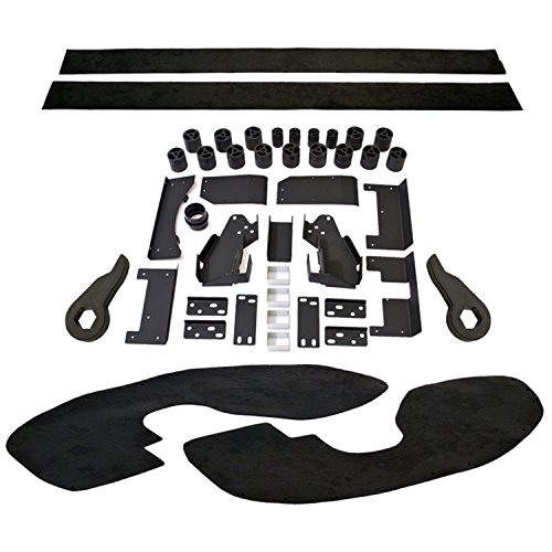 Performance Accessories, Chevy/GMC Silverado/Sierra 2500HD/3500HD Diesel 2WD and 4WD 5″ Premium Lift System, fits 2007 to 2010, PAPLS102, Made in America