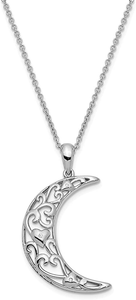 Sterling Silver Antiqued Serve One Another 18in Necklace and Pendant