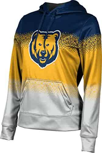 School Spirit Sweatshirt Southern Illinois University Girls Pullover Hoodie Brushed