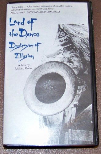 Lord of the Dance Destroyer of Illusion film by Richard Kohn VHS tape mint in factory clam shell case. We ship worldwide from San Francisco bay area.