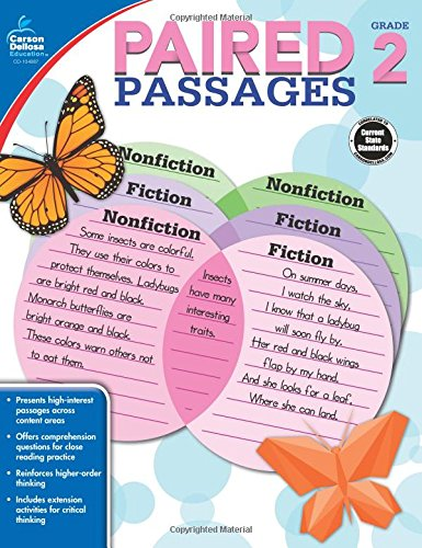 Download Paired Passages, Grade 2 pdf epub