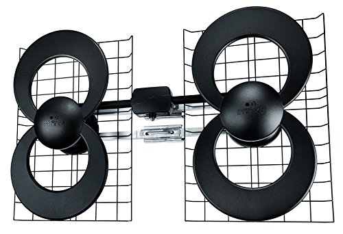 ClearStream 4 Indoor/Outdoor HDTV Antenna - 70 Mile Range (The Best Hdtv Antenna On The Market)
