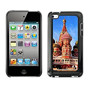 Hot Style Cell Phone PC Hard Case Cover // M00103405 places red square // Apple ipod Touch 4 4G 4th