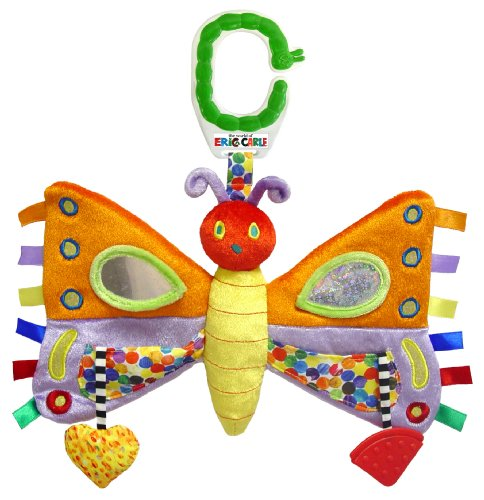 - World of Eric Carle, The Very Hungry Caterpillar Activity Toy, Butterfly