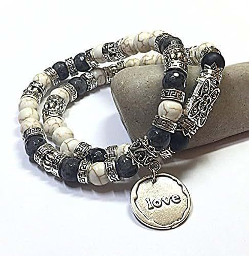 Amazon.com: Presents for Mom Beaded Stretch Bracelets ...
