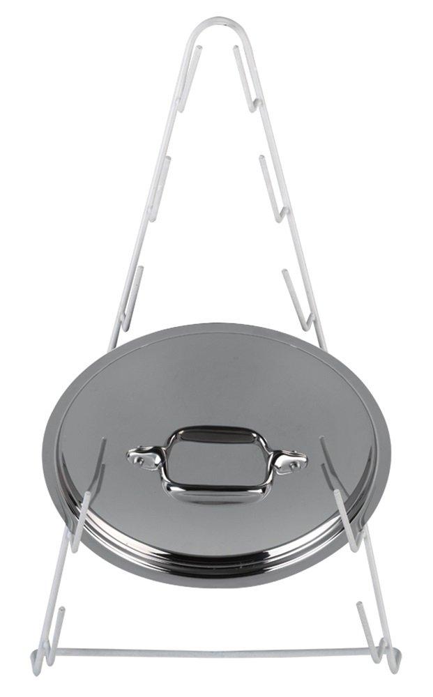 Better Houseware 1492 Pot Lid Rack, White