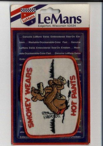 Smokey Wears Hot Pants LeMans Sealed New Patch Emblem Vintage Memorabilia