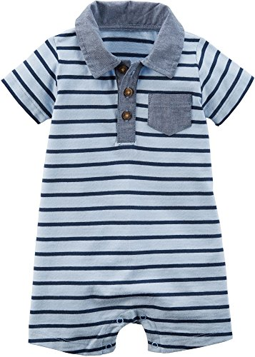 Carter's Baby Boys' Striped Romper 24 Months