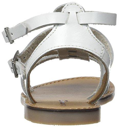 Alla Caviglia Belarbi Con Bianco M Par blanc Hicelot Les Tropéziennes Sandali Cinturino Donna OfZ8U8q