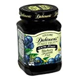 Dickinson's Purely Fruit Blueberry Spread, 9.5-Ounce Jars (Pack of 6)