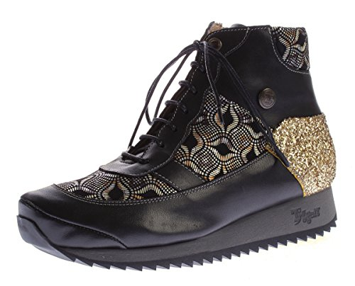 Bottines Noir Tiggers Bottines Femme or Tiggers pwxEwIaq7