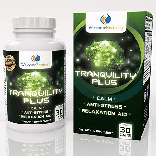 Tranquillité et anxiété soulagement cerveau Nootropique - favorise calmant, apaisant et relaxant Stress Relief - sommeil plus profond et réparateur - Safe, naturel vitamine B12 et biotine - renforce la mise au point