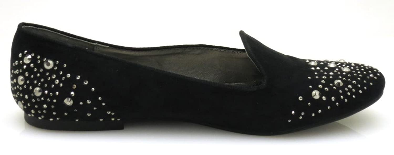 Dolce Vita elegante Ballerinas Damenschuhe Sommer Schuhe schwarz Nieten 5769 3rpwZenrOA