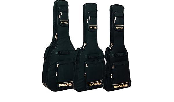 ROCKBAG RB20714B ROYAL PREMIUM LINE Jumbo Guitarra Acustica Negra: Amazon.es: Instrumentos musicales