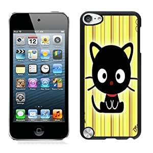 Beautiful DIY Designed With Chococat! Cover Case For iPod Touch 5th Black Phone Case CR-119