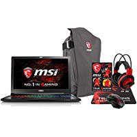 MSI GS63 STEALTH-062 (i7-7700HQ, 32GB RAM, 512GB SATA SSD + 1TB HDD, NVIDIA GTX 1050 2GB, 15.6 Full HD, Windows 10 Pro) Gaming Notebook