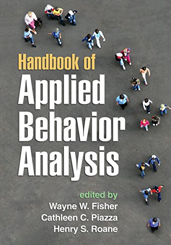 Pdf Medical Books Handbook of Applied Behavior Analysis