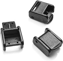 20//25MM Molle buckle strap Belt end clip adjust keeper tactical backpack Camp JK
