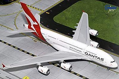 GeminiJets G2QFA748 QANTAS A380 Livery VH-OQF / GEMG20748 1:200 Gemini Jets Qantas Airbus A380-800 Reg #VH-OQF (pre-Painted/pre-Built)