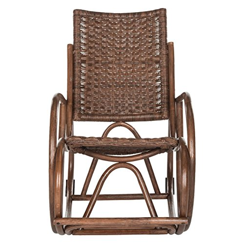 Safavieh Home Collection Aria Antique Grey Rocking Chair (Chair Aria)