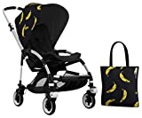 Bugaboo Bee3 Accessory Pack - Andy Warhol Banana/Black (Special Edition)