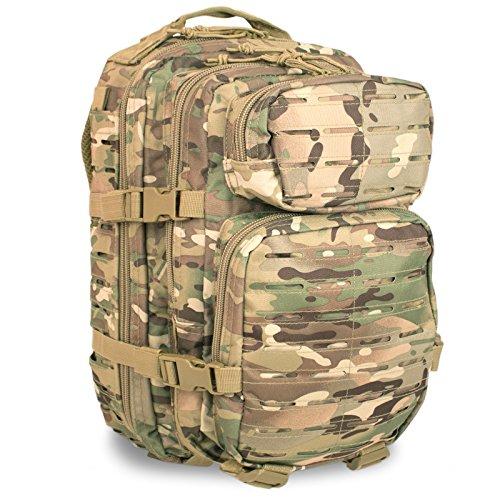 Mil-Tec US Army Pack Large Laser Cut Multitarn