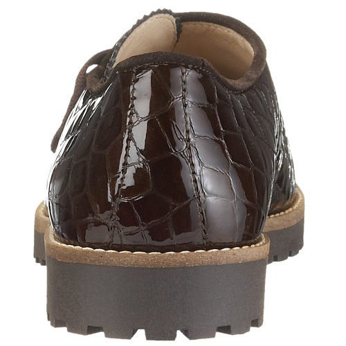 Brown Diavolezza HANNA Derby Anderes 5010 Women Brown Leder w0qxa0SRr