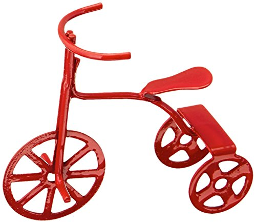 Darice 2318-81 Miniature Red (Mini Red Tricycle)