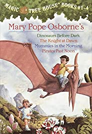 Magic Tree House Boxed Set, Books 1-4: Dinosaurs Before Dark, The Knight at Dawn, Mummies in the Morning, and